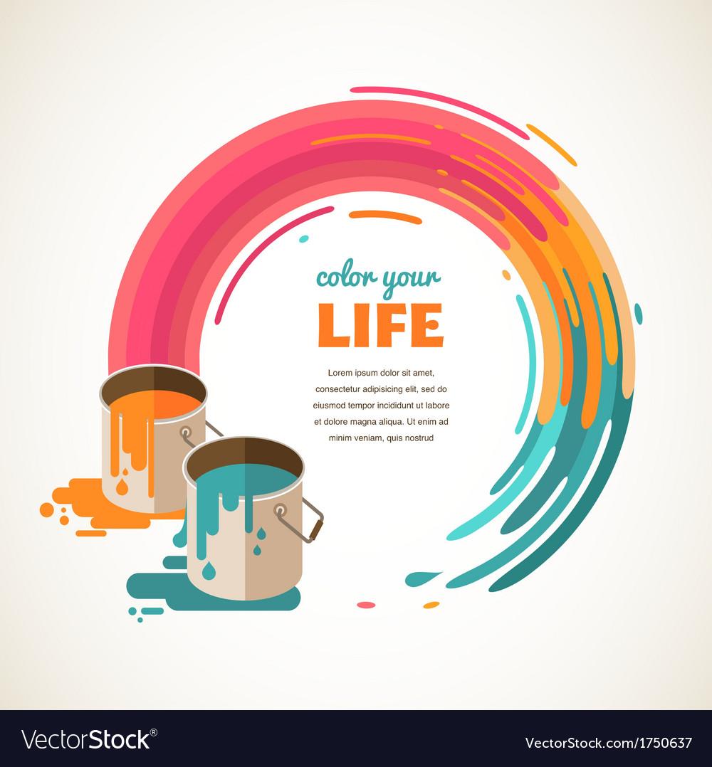 Design creative idea and color concept vector | Price: 1 Credit (USD $1)