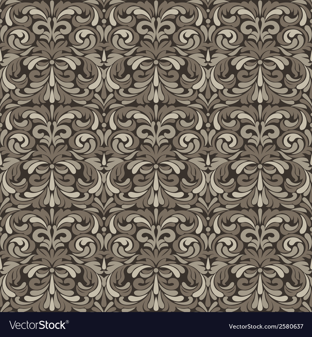Patina baroque pattern vector | Price: 1 Credit (USD $1)
