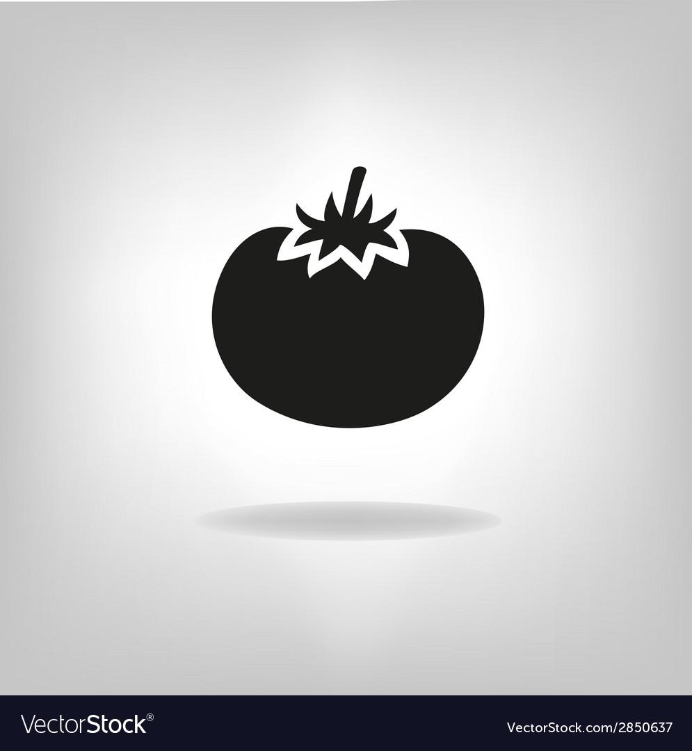 Tomato icon vector | Price: 1 Credit (USD $1)