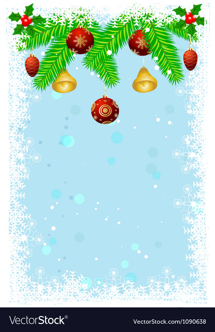 Beautiful christmas background vector | Price: 1 Credit (USD $1)