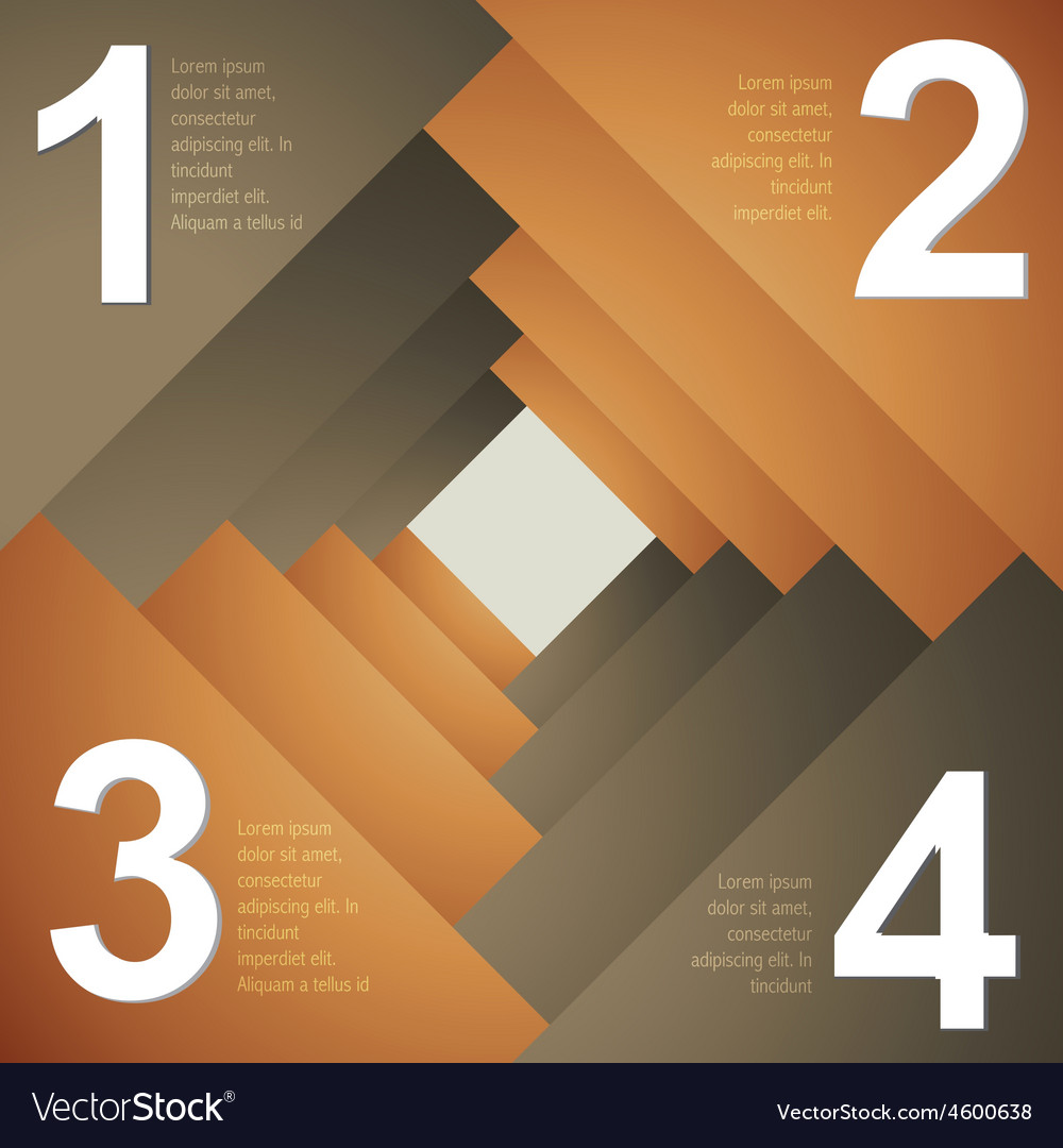 Creative itemplate design of infograph vector | Price: 1 Credit (USD $1)