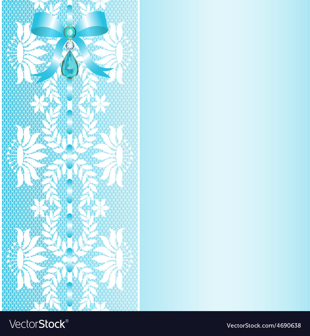 Lace with bow vector | Price: 1 Credit (USD $1)