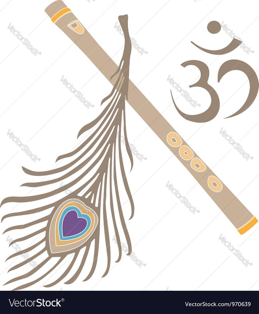 Indian god symbol vector | Price: 1 Credit (USD $1)
