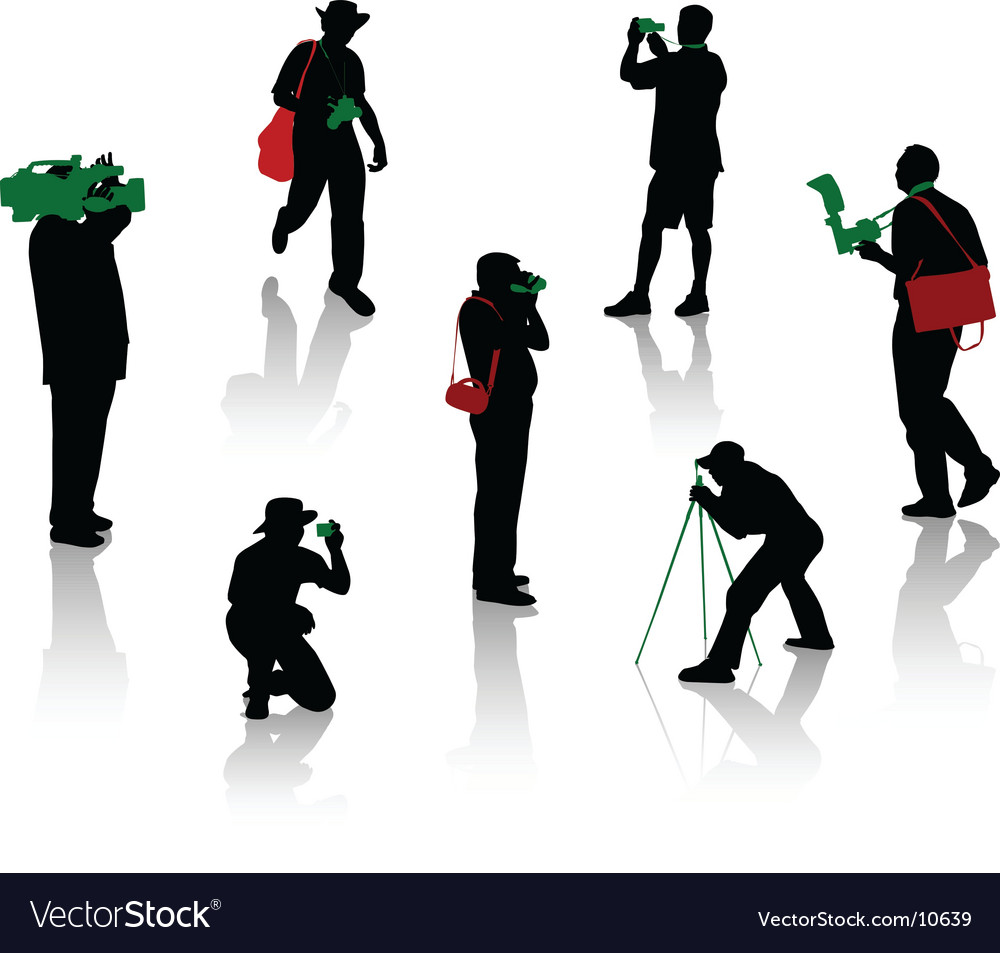 Photographers vector   Price: 1 Credit (USD $1)