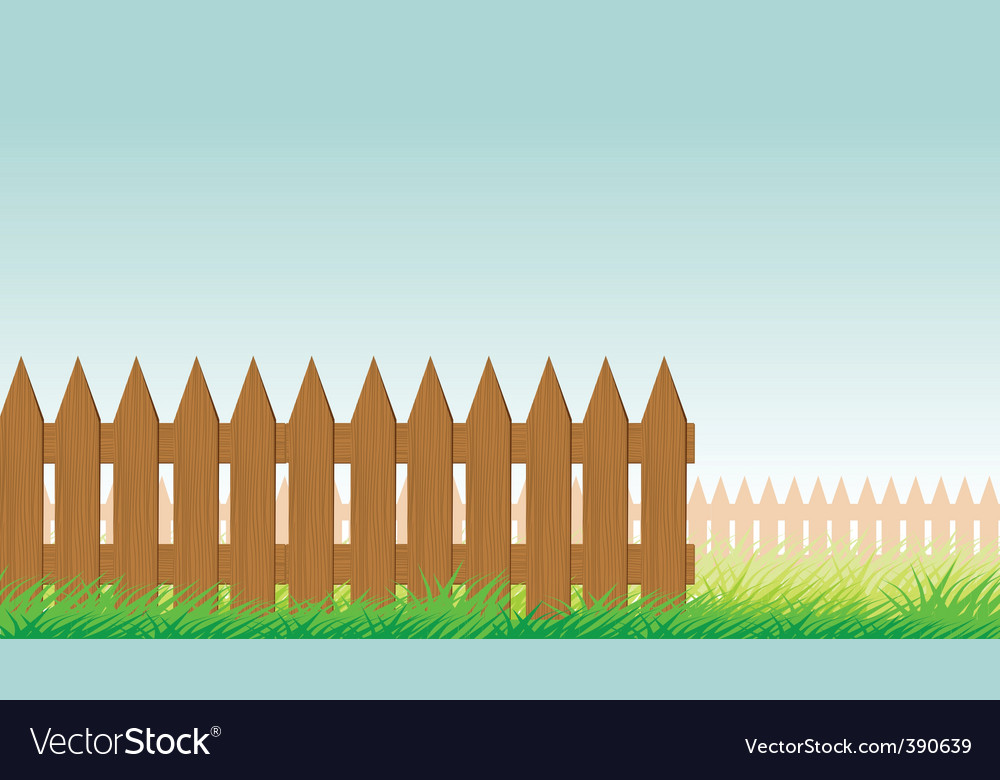 Picket fence vector | Price: 1 Credit (USD $1)