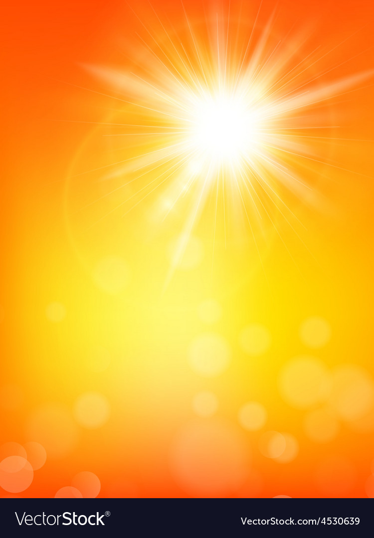 Summer sun burst with lens flare eps 10 vector   Price: 1 Credit (USD $1)