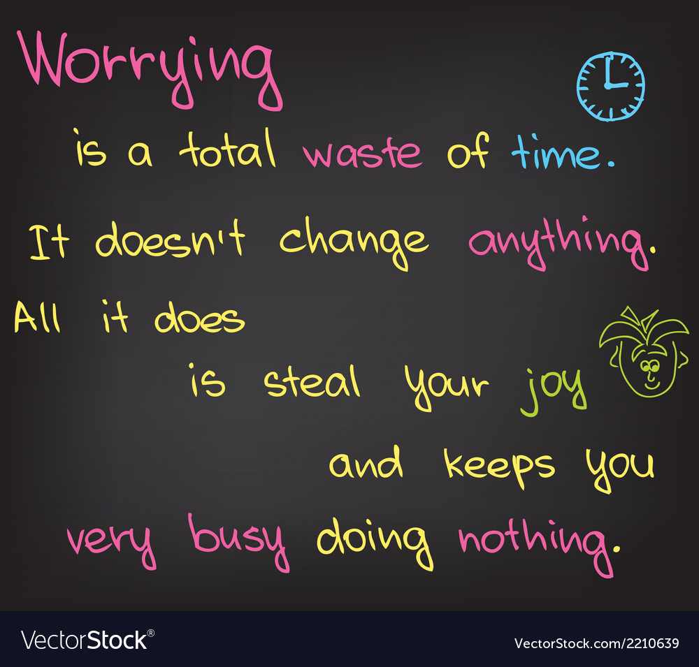 Worrying vector | Price: 1 Credit (USD $1)