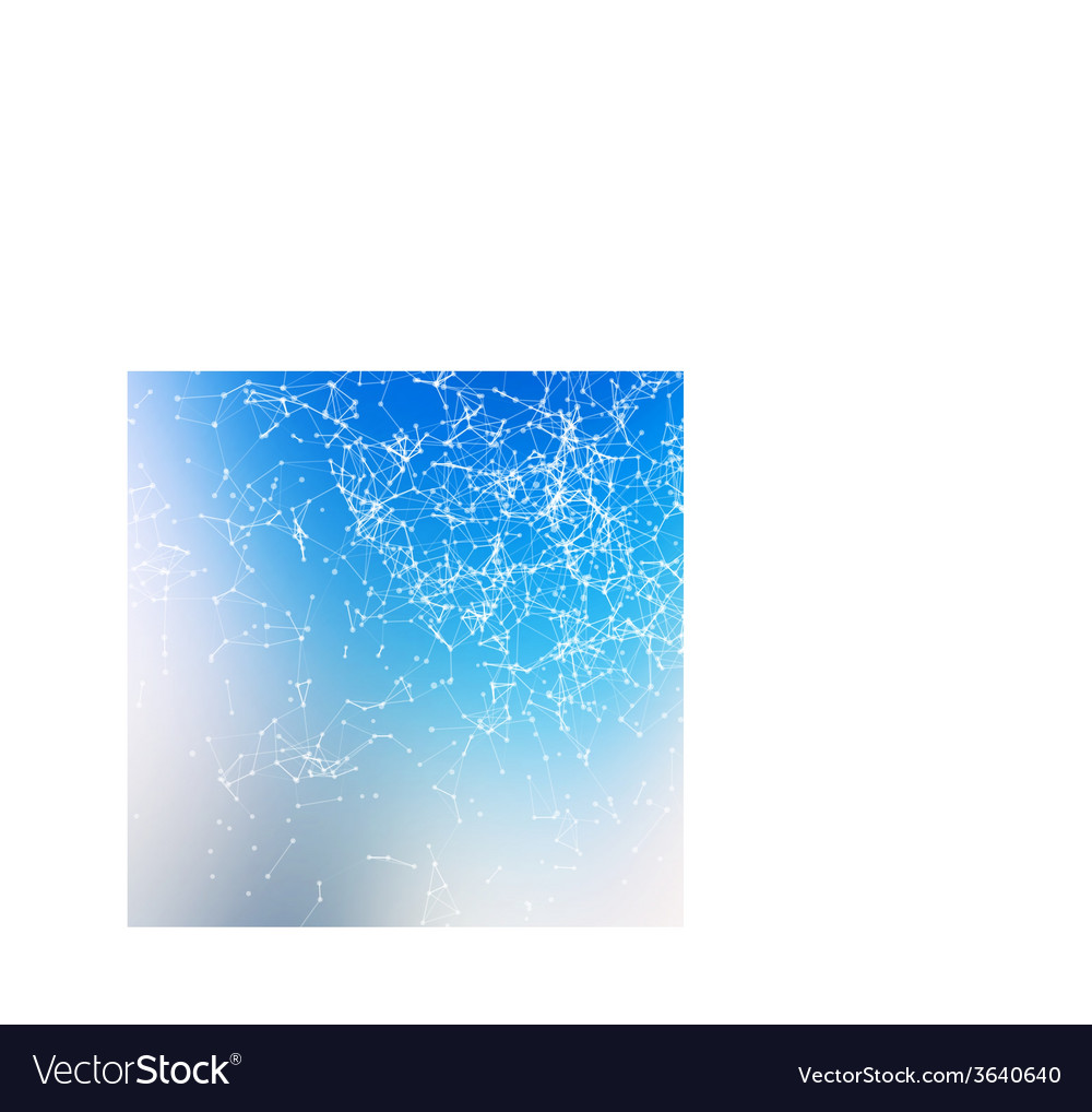 Fresh abstract background connecting dots with vector | Price: 1 Credit (USD $1)