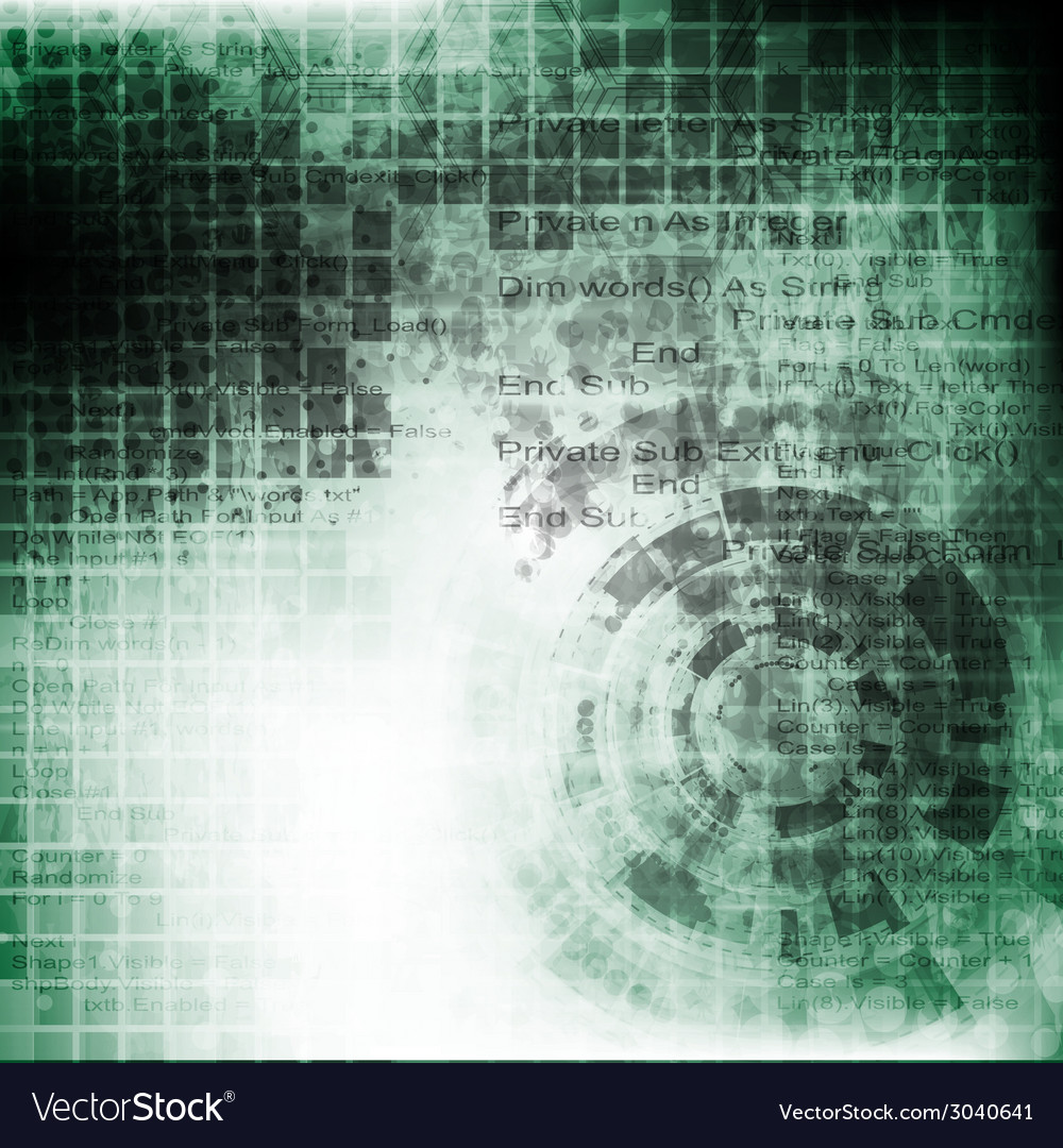 Abstract grunge engineering tech background vector   Price: 1 Credit (USD $1)