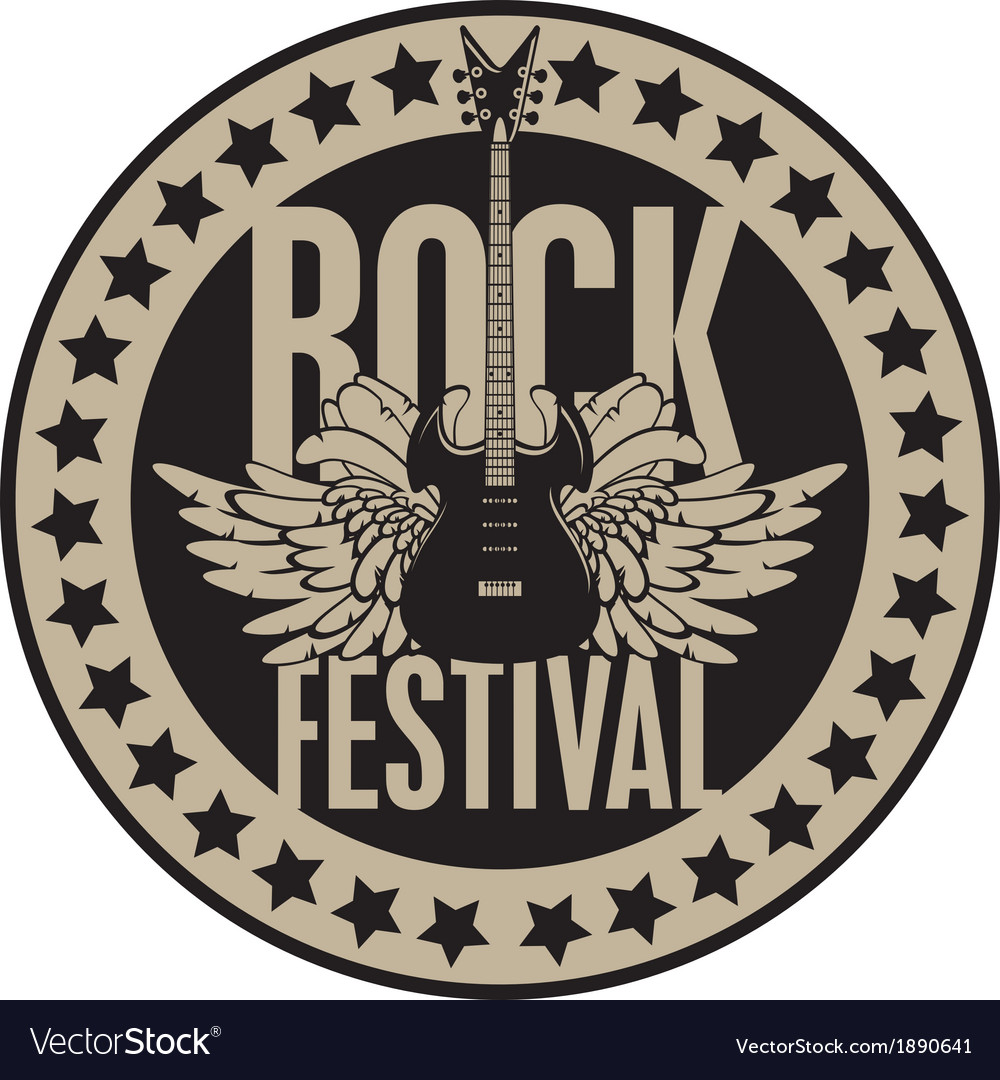 Rock festival vector | Price: 1 Credit (USD $1)