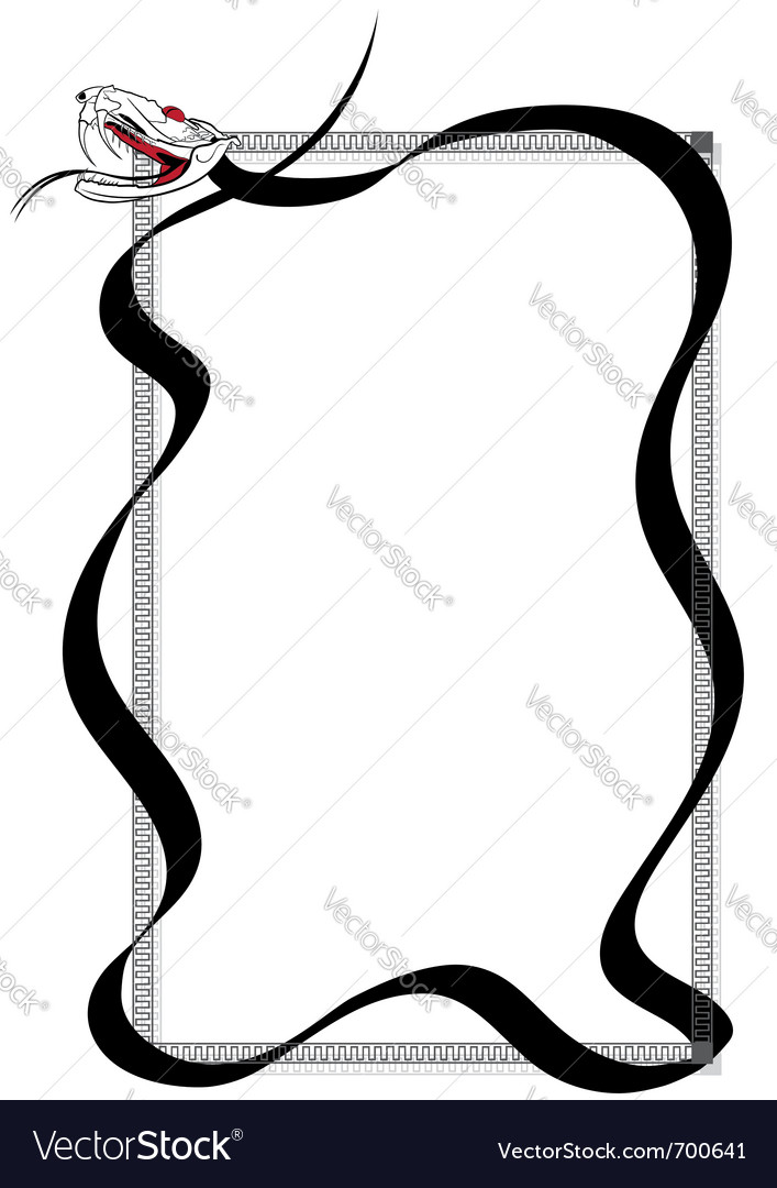 Venomous snake vector | Price: 1 Credit (USD $1)