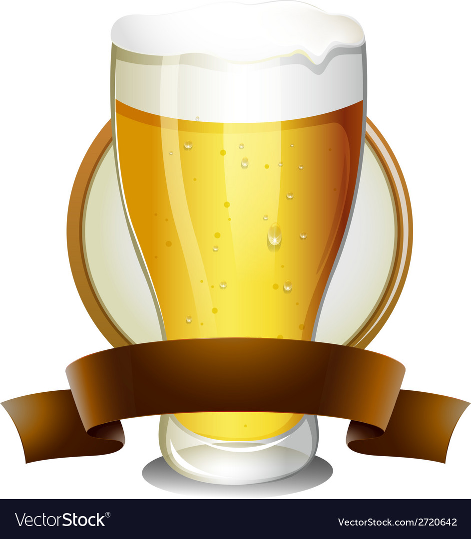 Beer lable vector | Price: 1 Credit (USD $1)
