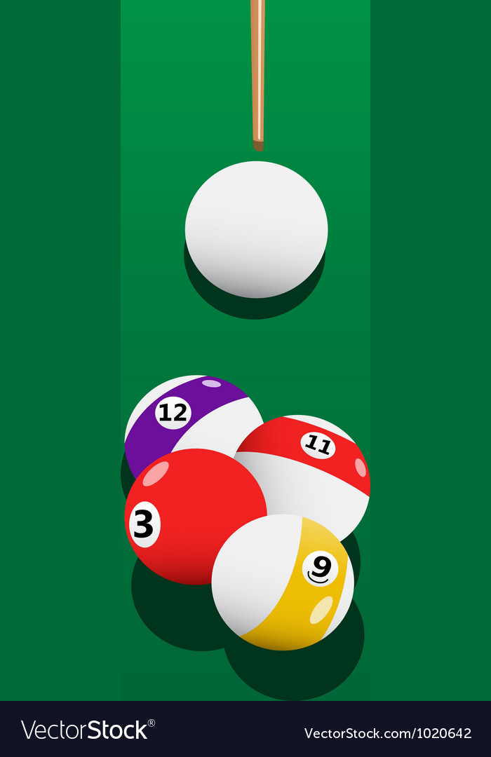 Billiards aiming vector | Price: 1 Credit (USD $1)