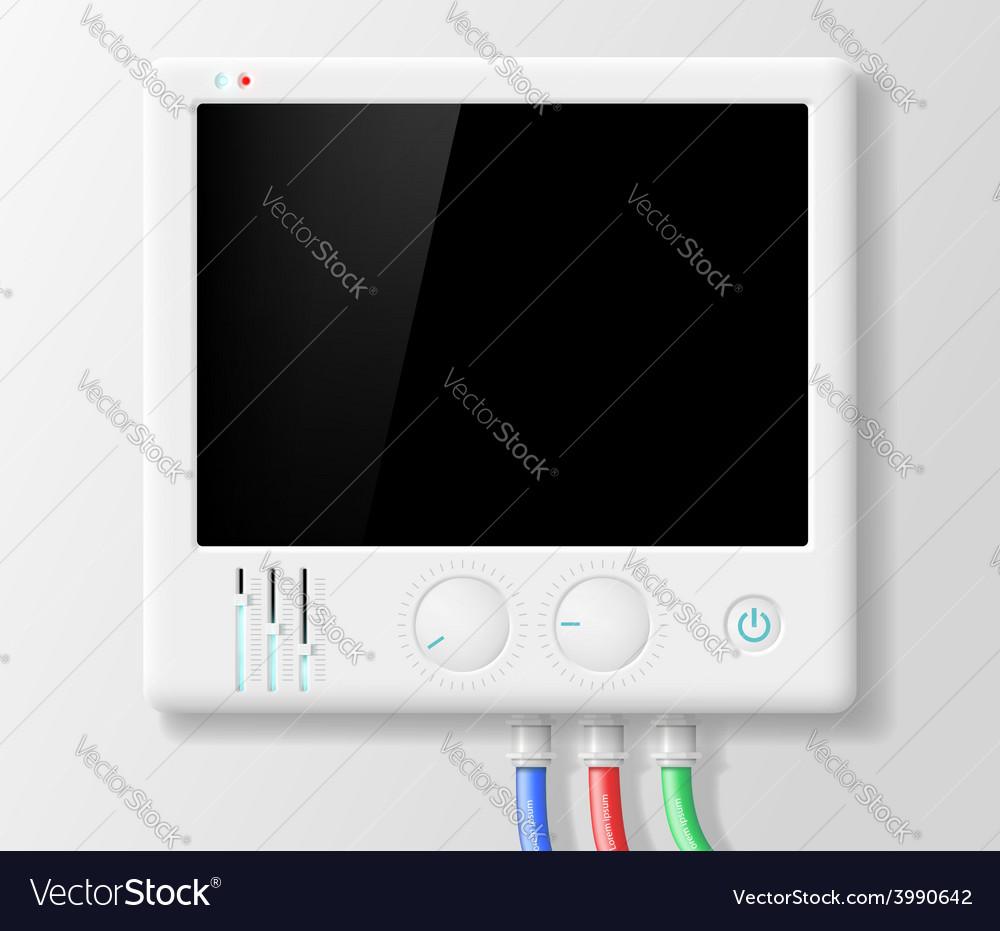 Digital device vector | Price: 1 Credit (USD $1)