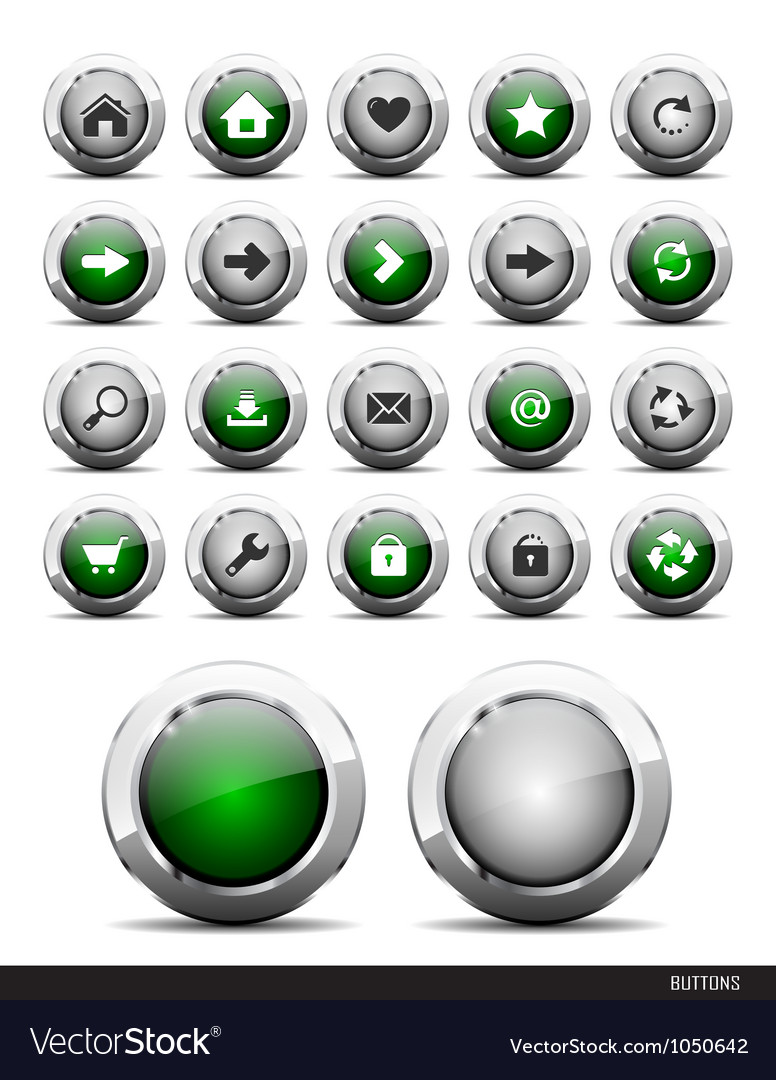 Web buttons pack vector | Price: 1 Credit (USD $1)