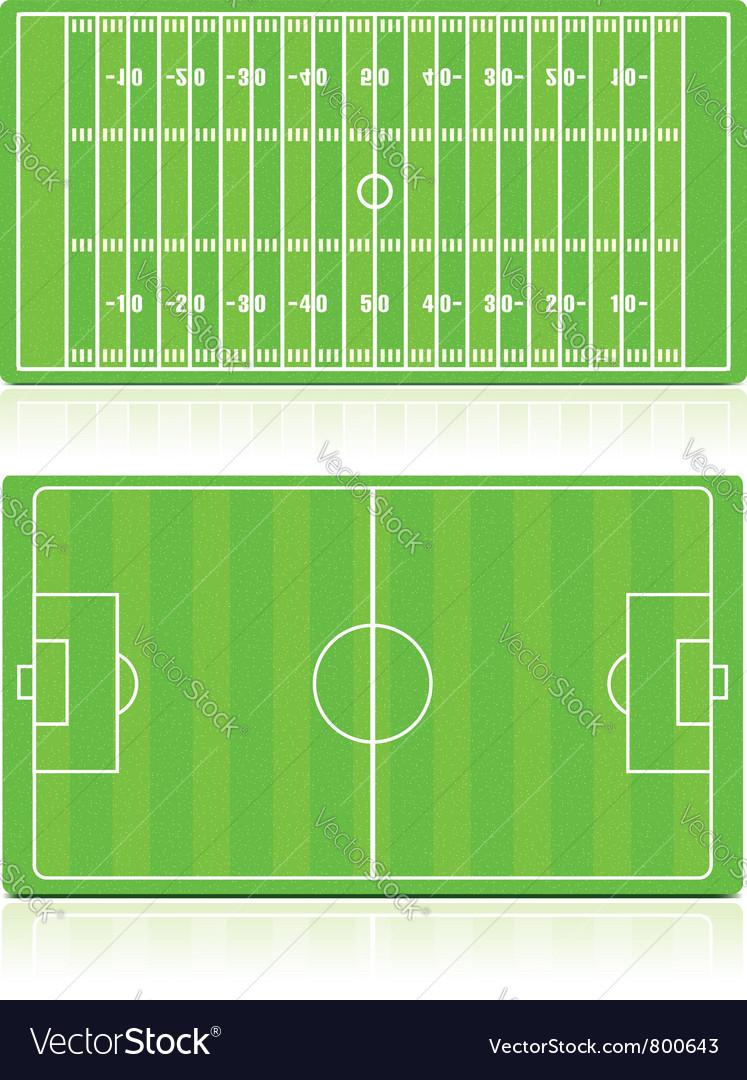 Sport fields vector | Price: 1 Credit (USD $1)