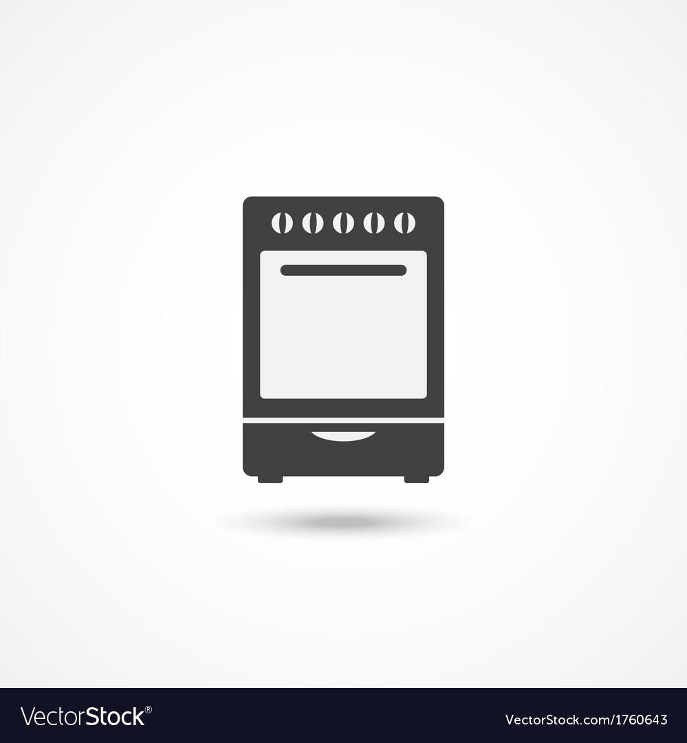 Stove icon vector | Price: 1 Credit (USD $1)