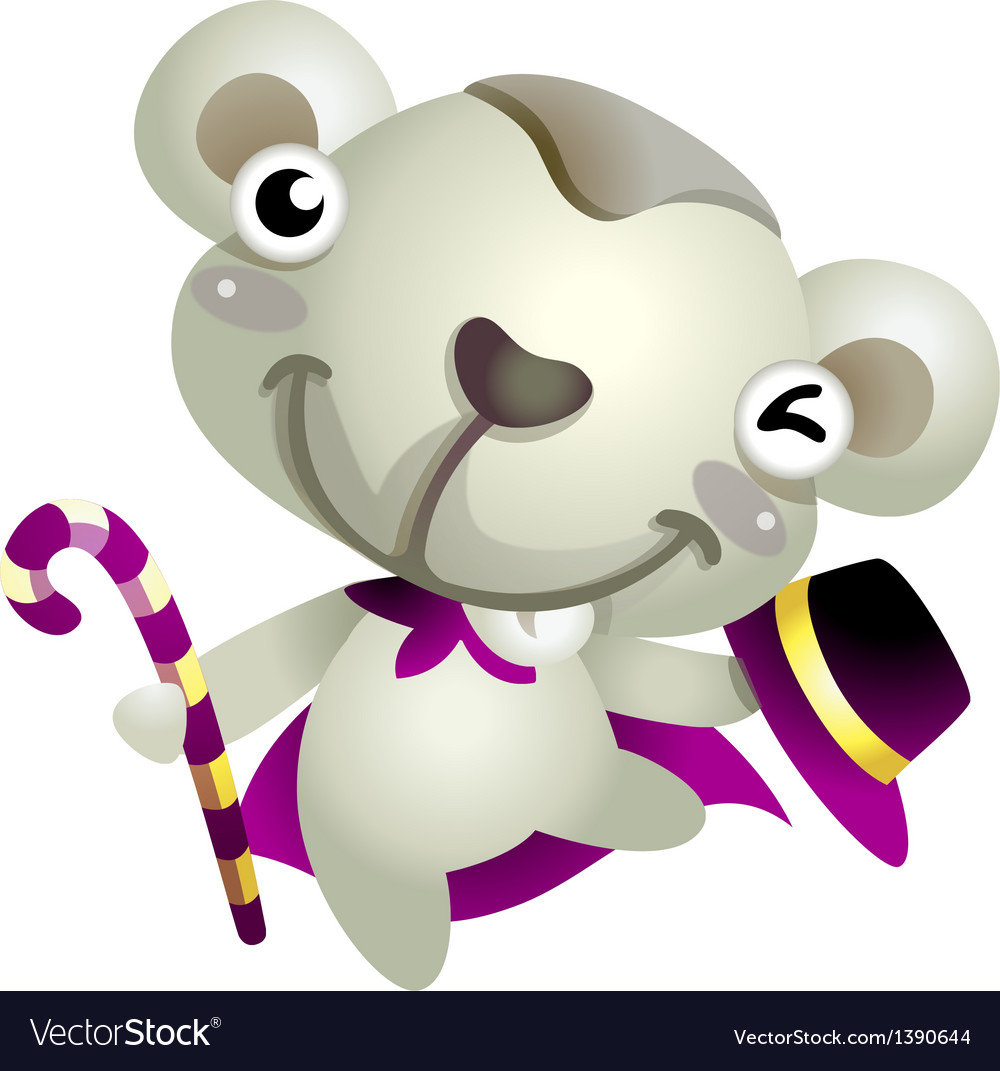 Icon bear vector | Price: 1 Credit (USD $1)