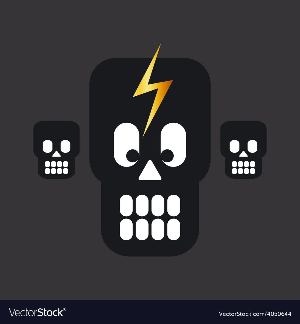 Skulls 01 resize vector | Price: 1 Credit (USD $1)
