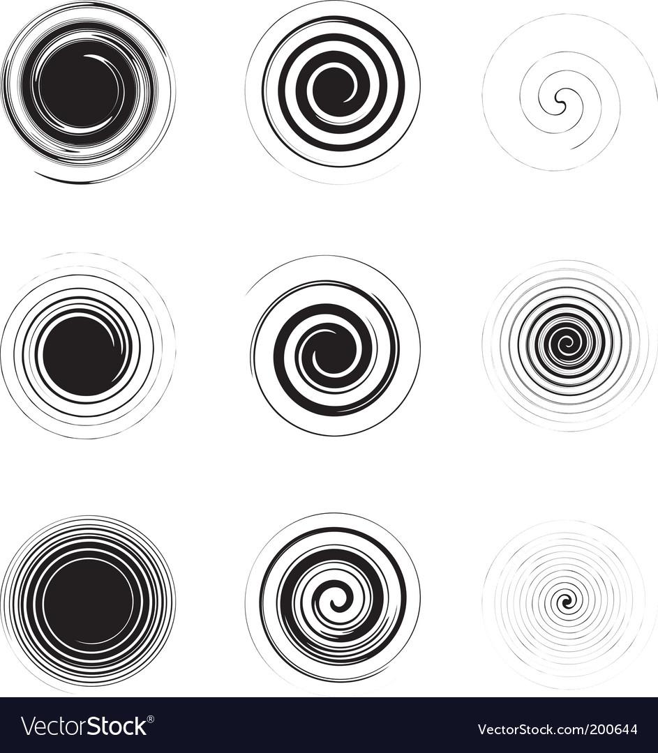 Spiral vector | Price: 1 Credit (USD $1)