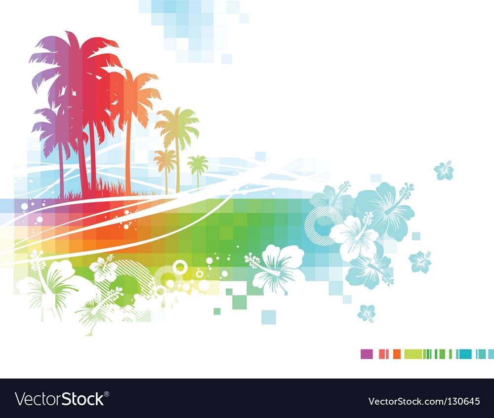 Abstract summer vector | Price: 1 Credit (USD $1)