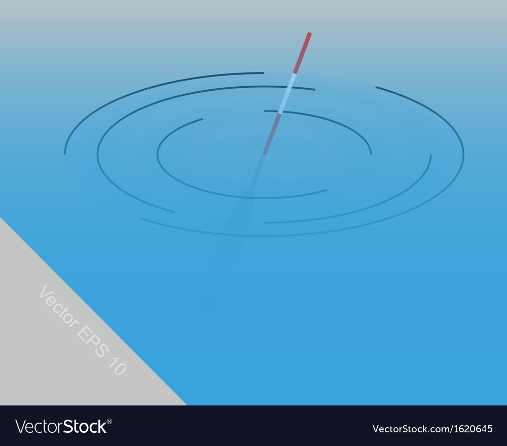 Fishing float vector | Price: 1 Credit (USD $1)