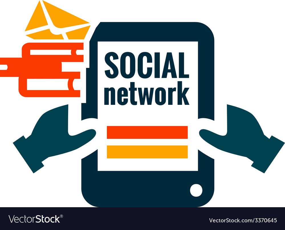 Social network icon vector   Price: 1 Credit (USD $1)