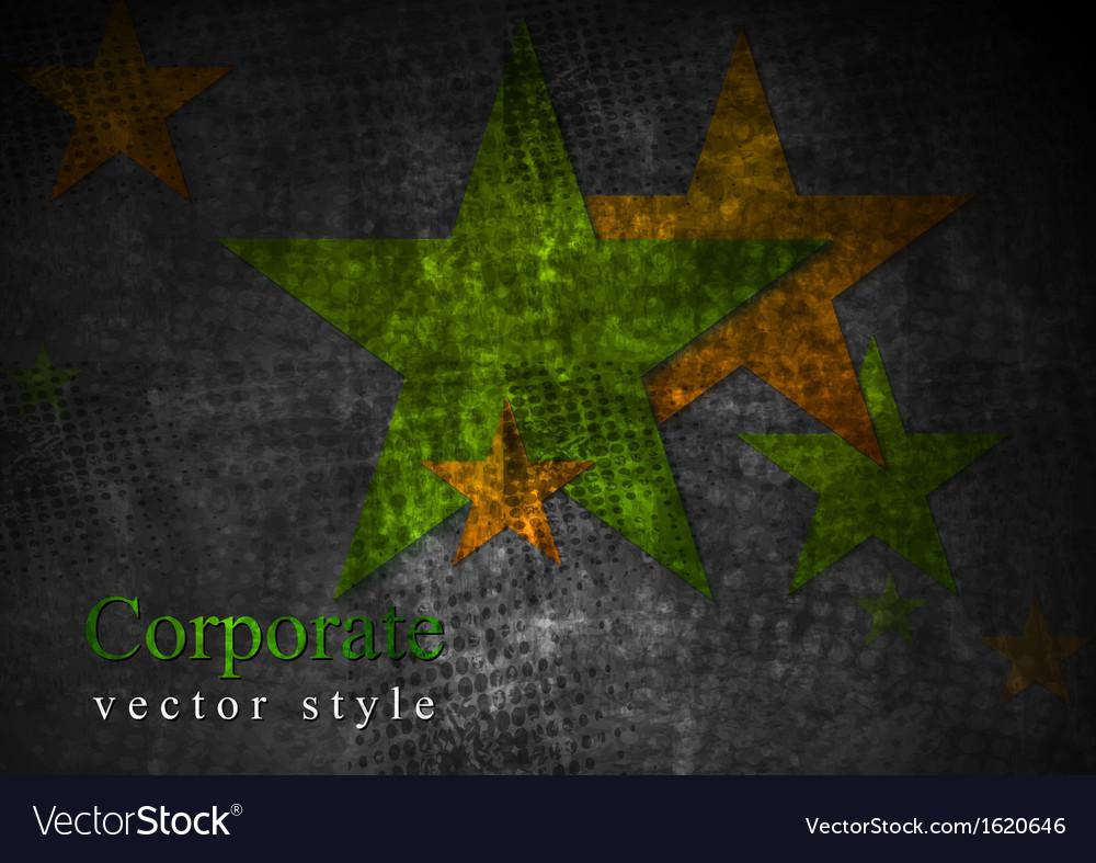 Grunge stras design vector | Price: 1 Credit (USD $1)