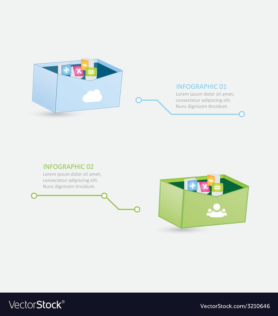 Infographic 72 vector | Price: 1 Credit (USD $1)
