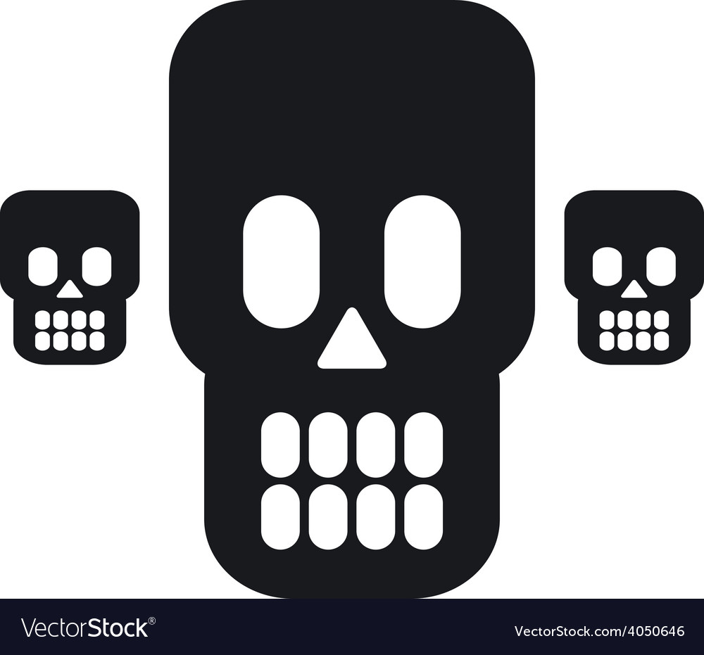 Skulls 02 resize vector | Price: 1 Credit (USD $1)