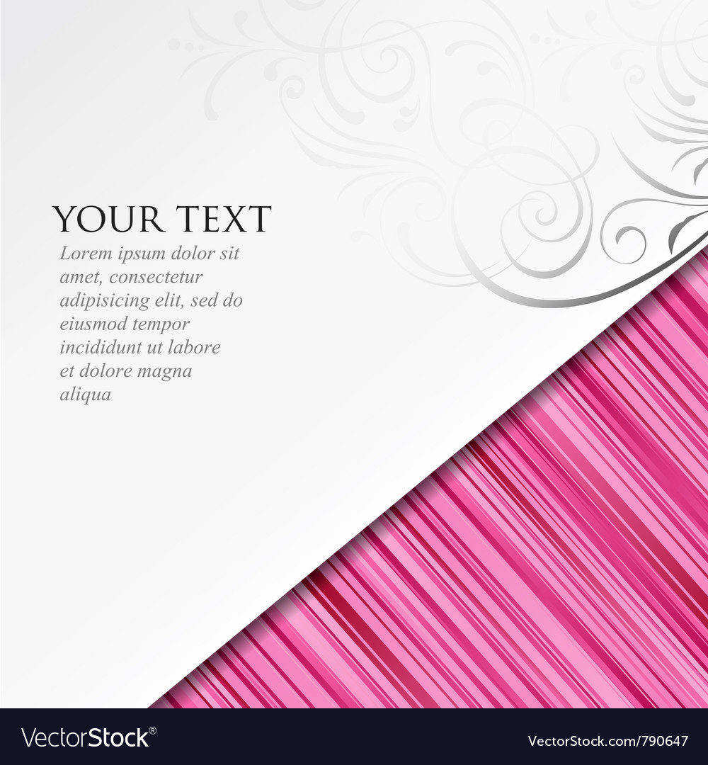 Abstract paper roll on pink background vector | Price: 1 Credit (USD $1)