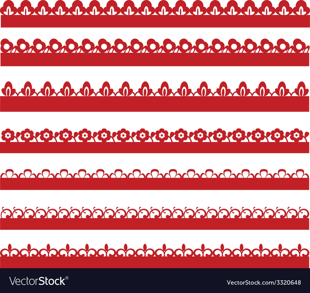 Lace collection vector | Price: 1 Credit (USD $1)