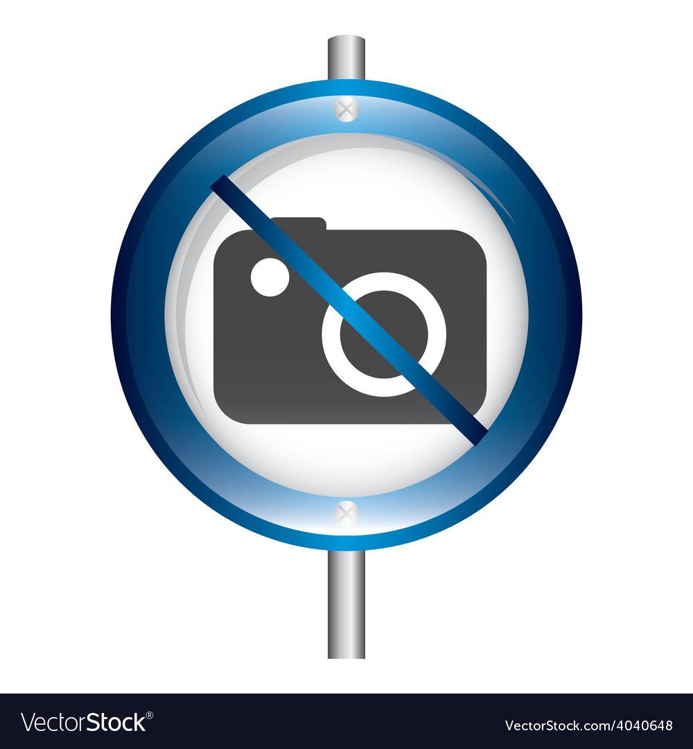 Prohibition camera vector | Price: 1 Credit (USD $1)