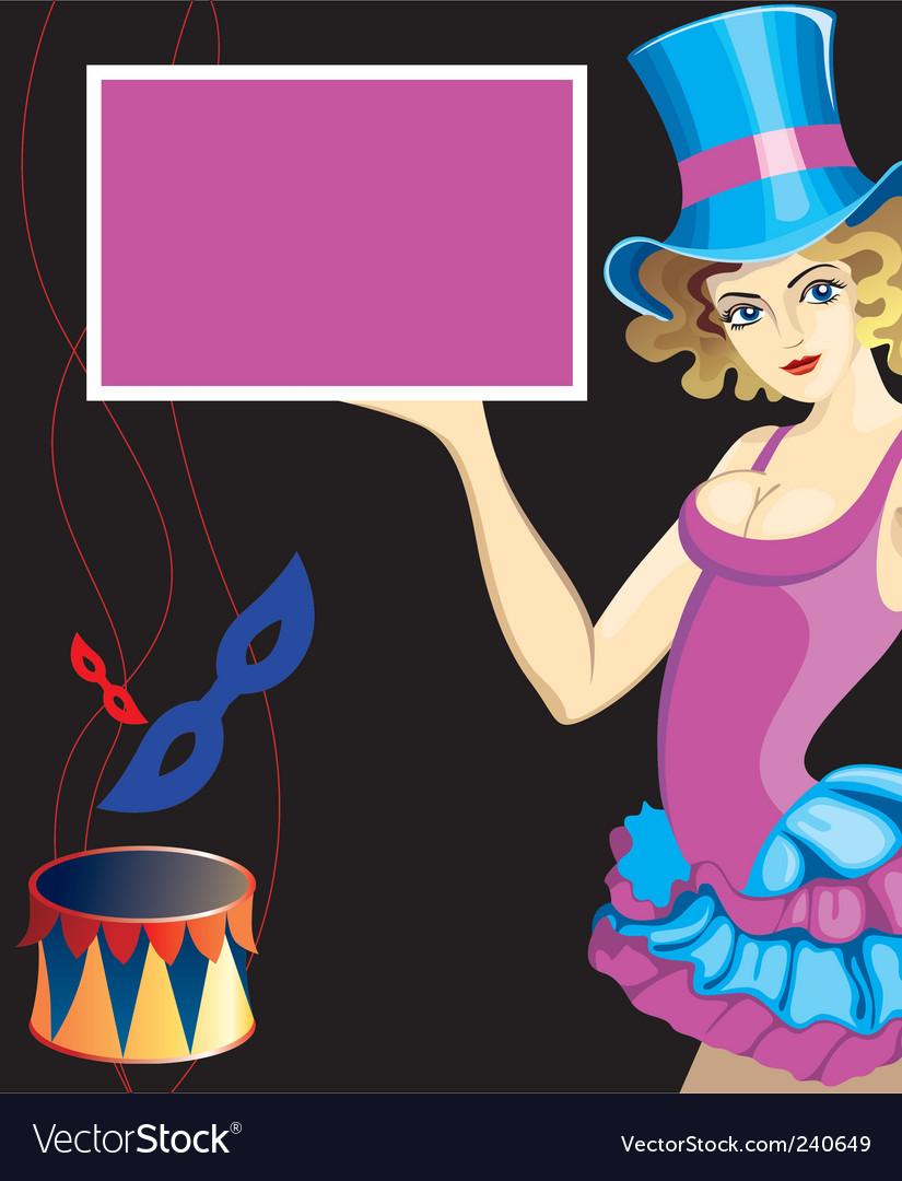 Circus performer vector | Price: 1 Credit (USD $1)