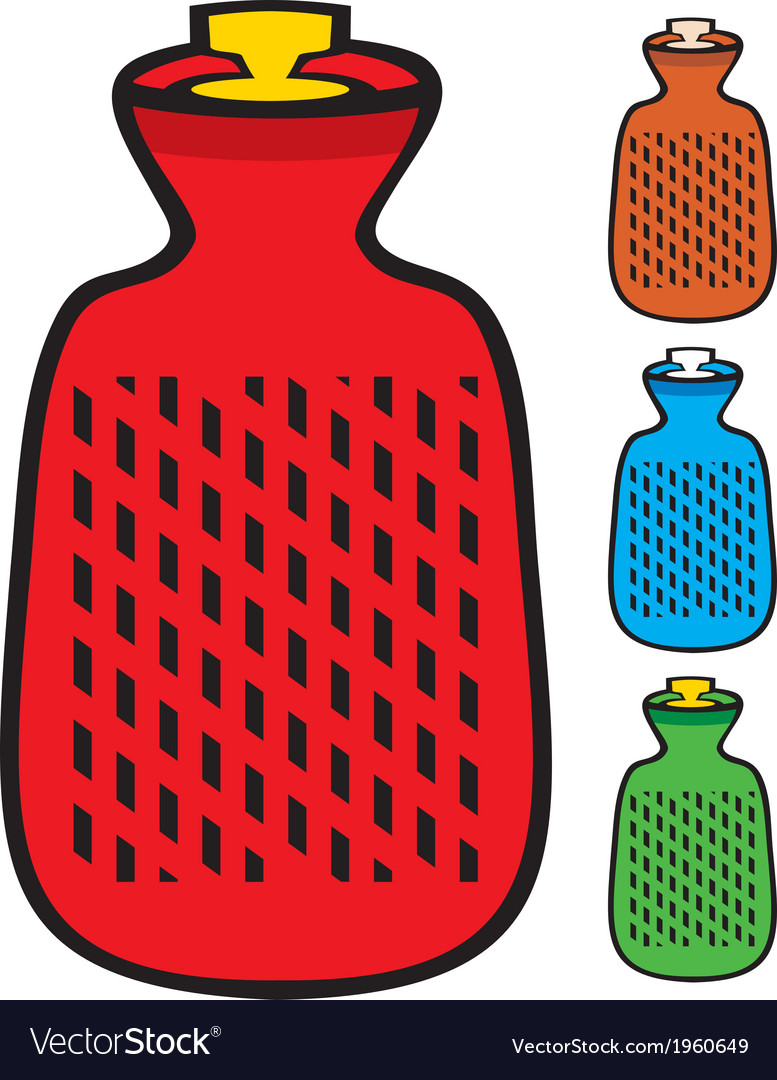 Hot water bottle vector | Price: 1 Credit (USD $1)