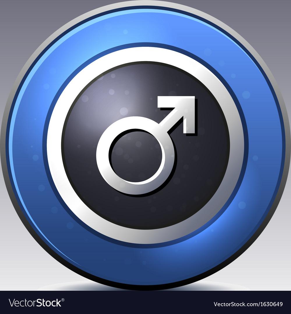 Male gender symbol vector   Price: 1 Credit (USD $1)