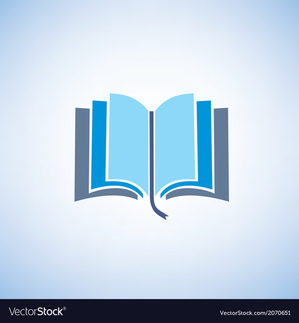 Book isolated symbol vector | Price: 1 Credit (USD $1)