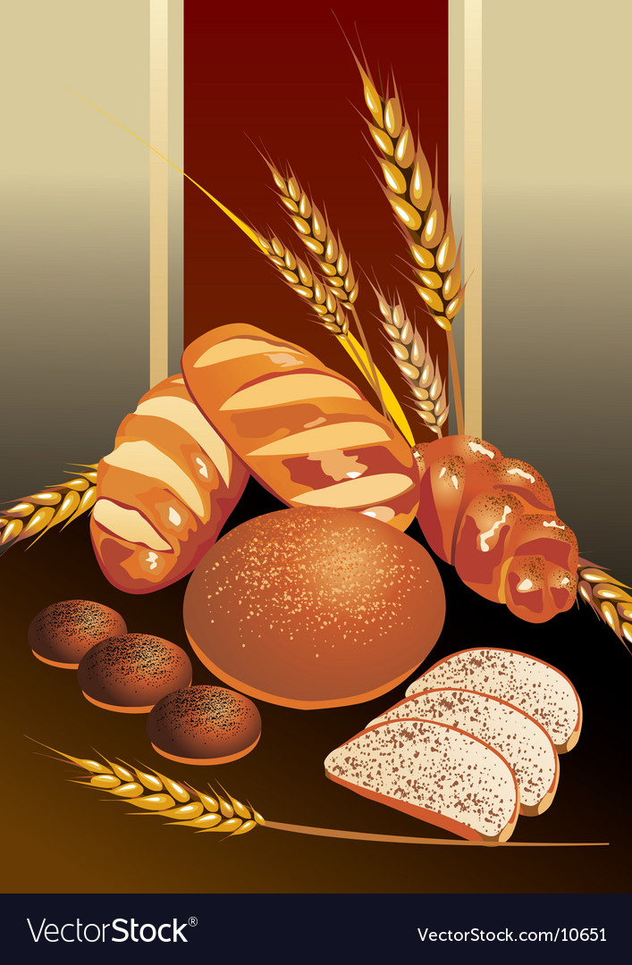 Bread vector | Price: 3 Credit (USD $3)