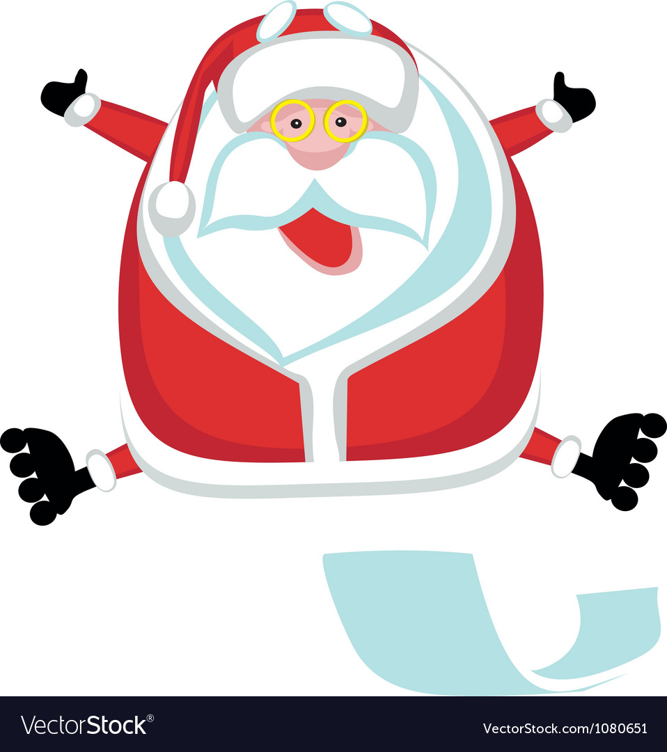 Extreme santa vector | Price: 1 Credit (USD $1)