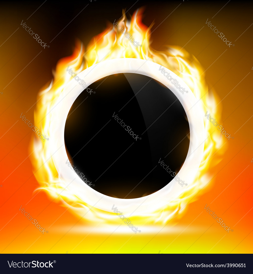 Ring of fire vector | Price: 1 Credit (USD $1)