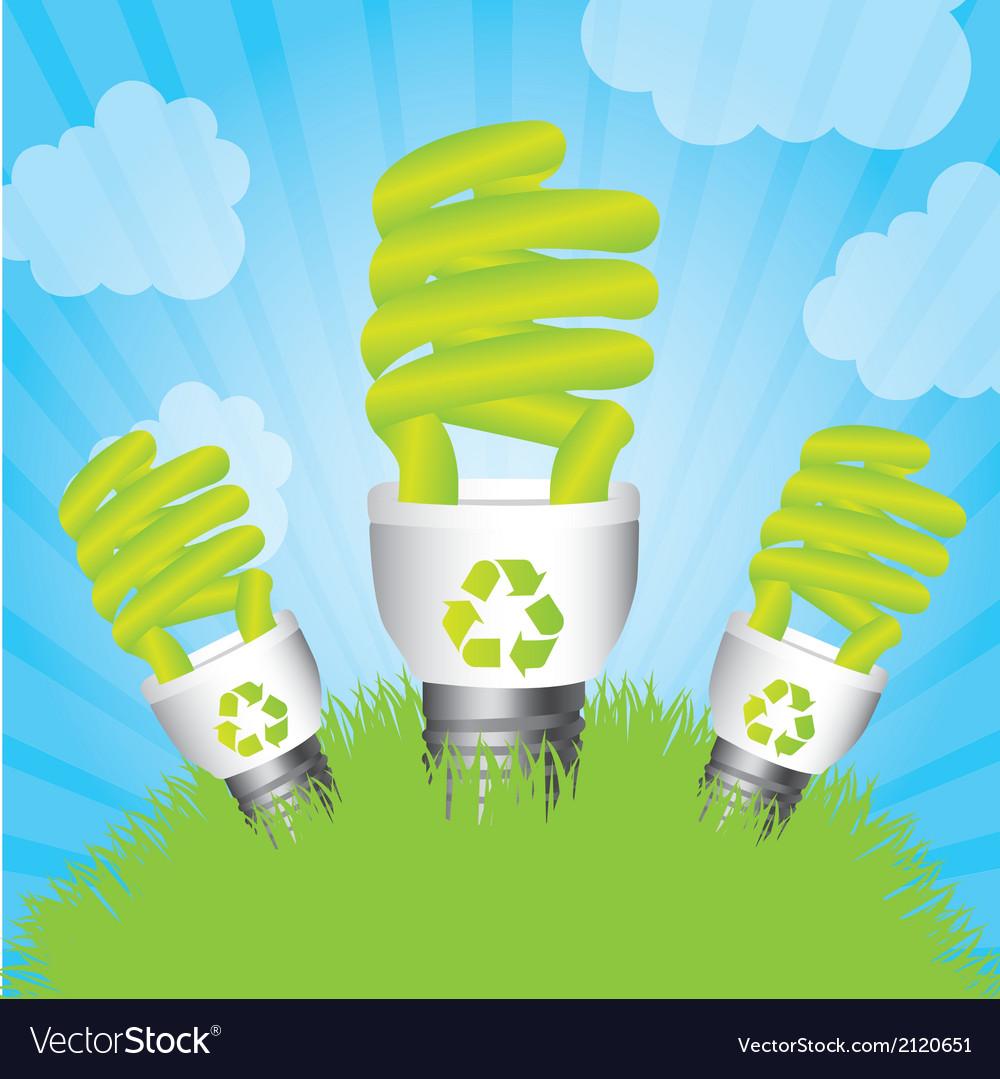 Saving energy vector | Price: 1 Credit (USD $1)