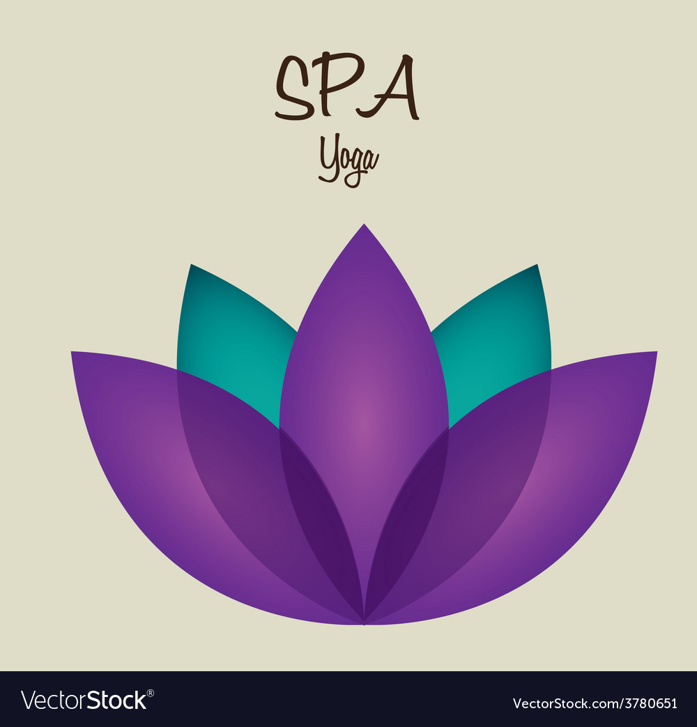 Spa therapy design vector | Price: 1 Credit (USD $1)