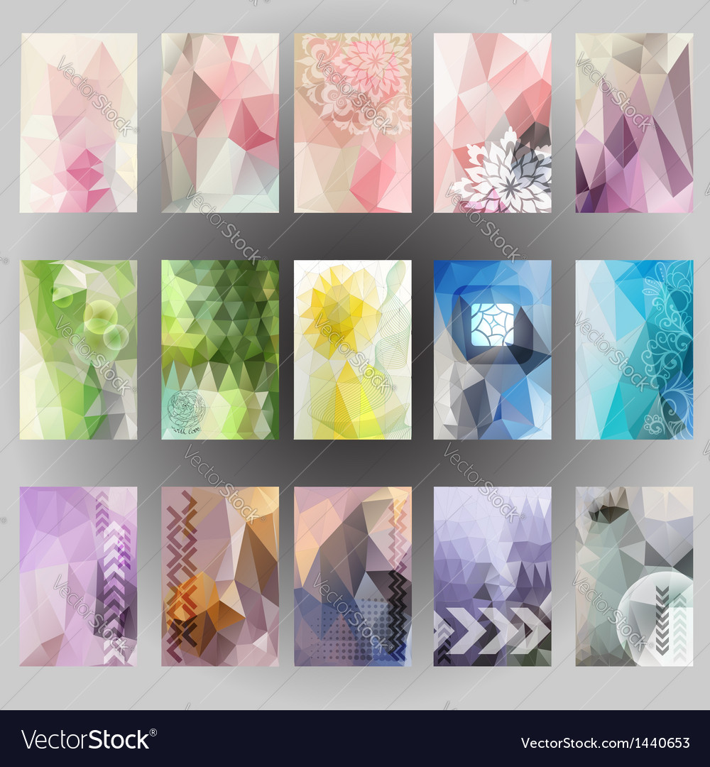 Abstract header background label design geometric vector | Price: 1 Credit (USD $1)