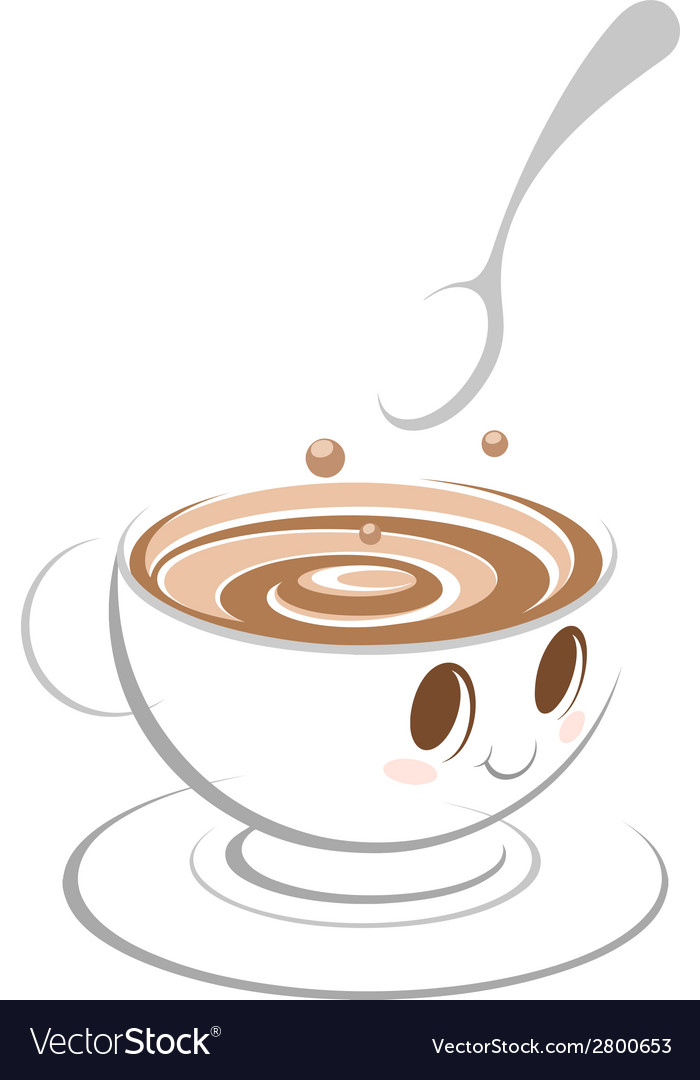 Coffee cartoon vector | Price: 1 Credit (USD $1)