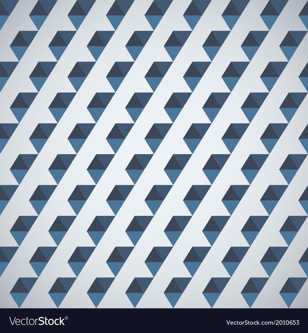 Retro pattern of geometric shapes half hexagon vector   Price: 1 Credit (USD $1)
