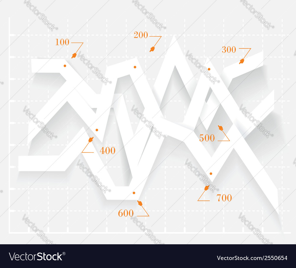 Abstract 3d digital infographic vector | Price: 1 Credit (USD $1)