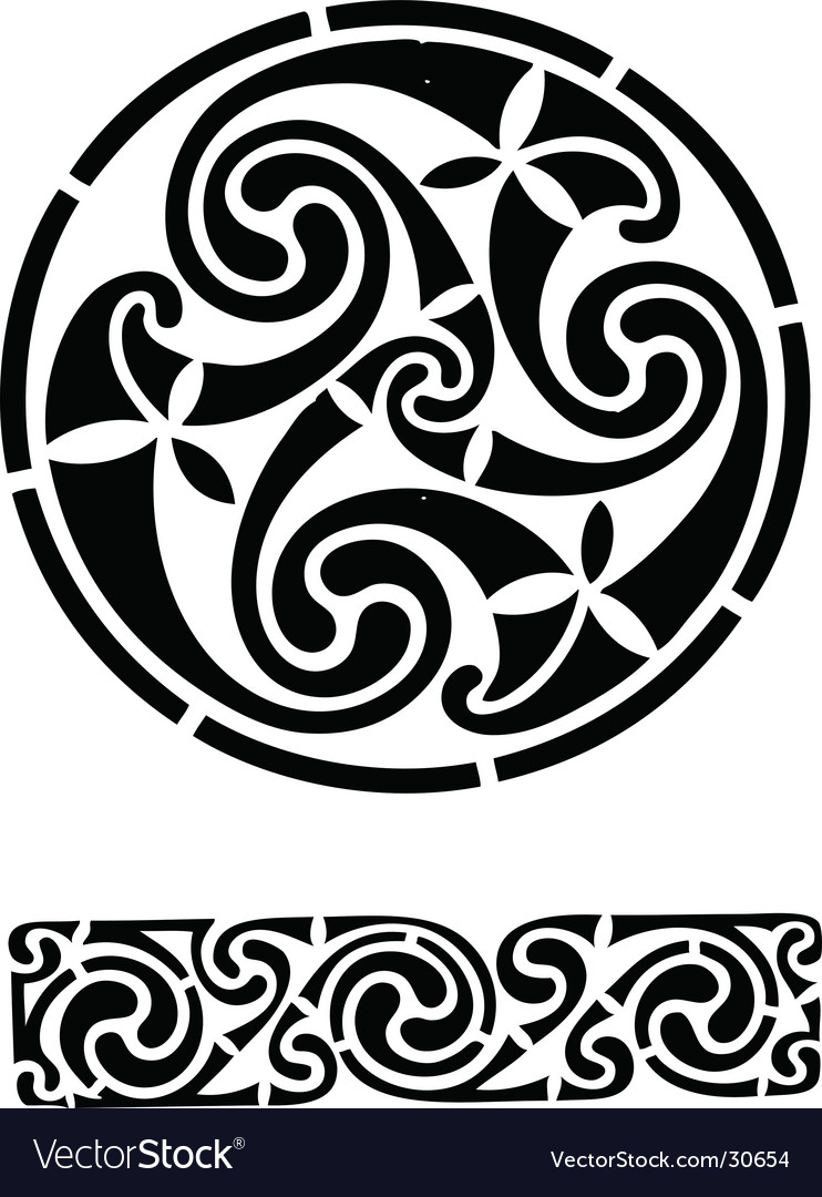 Celtic design works vector | Price: 1 Credit (USD $1)