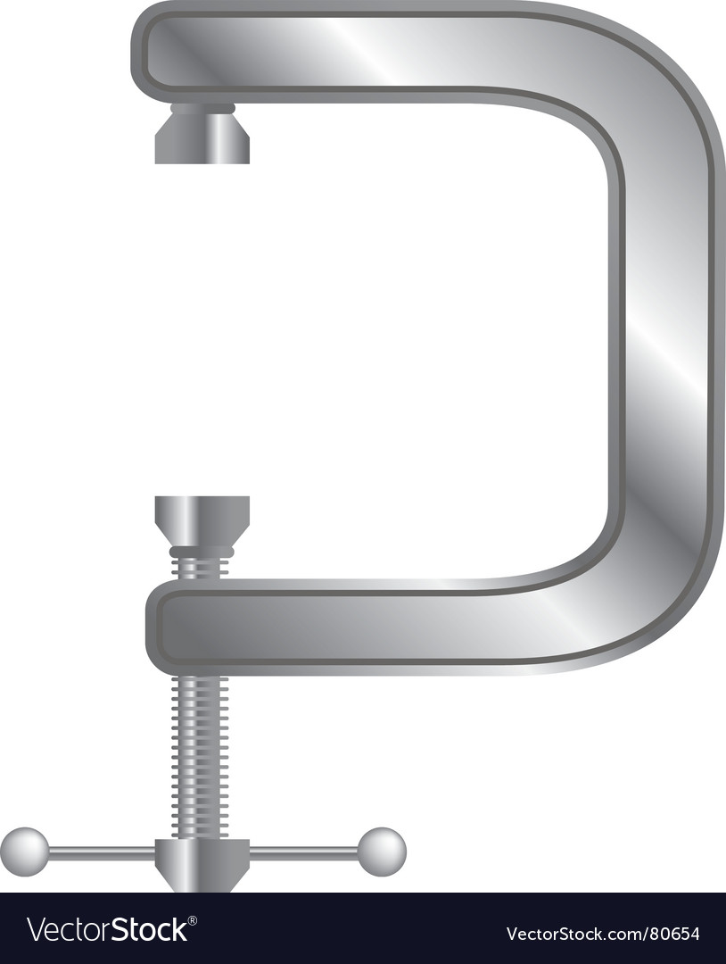 Tool clamp vector | Price: 1 Credit (USD $1)