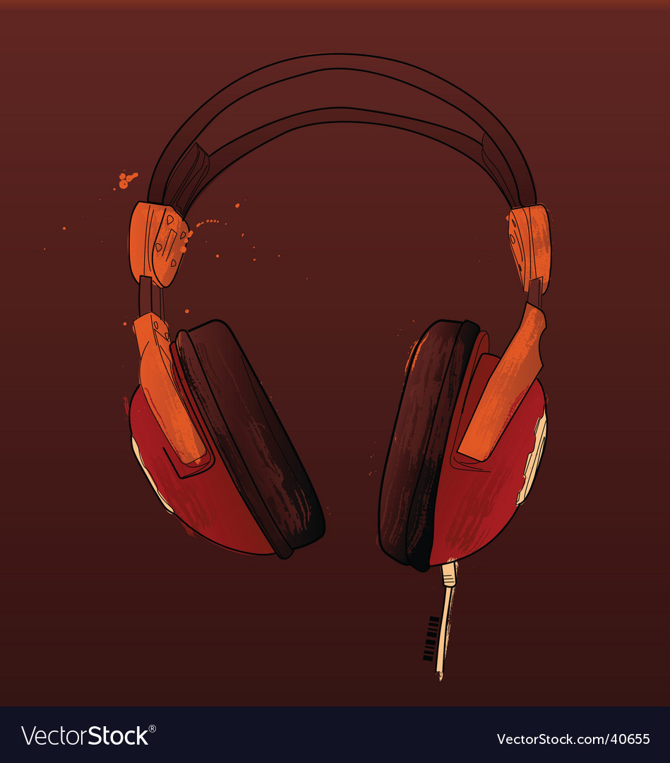 Headphones vector | Price: 3 Credit (USD $3)