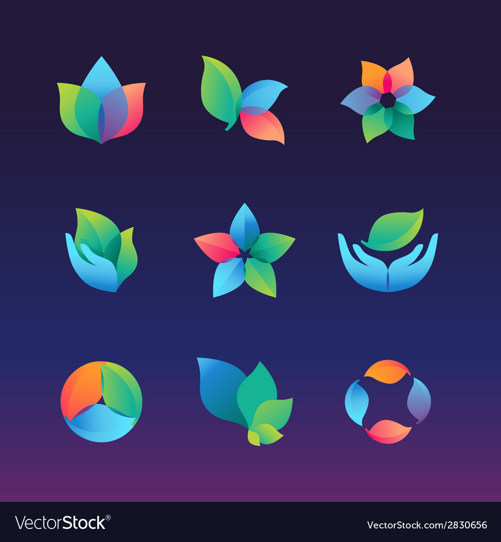 Gradient ecology vector | Price: 1 Credit (USD $1)